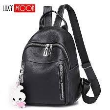 fashion personality backpack cute jelly transparent waterproof pvc plastic mini teenager girls notebook school bag