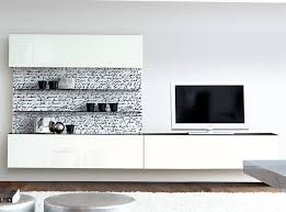 white wall storage. Unique Wall Unico Modern High Gloss White And Print Wall Storage System Thumbnail  To