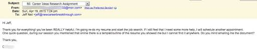 Resume Coaching See 140 Unedited Reviews For Jeff Neil Career Coach