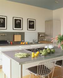 Kitchen No Wall Cabinets Impressive Modern Cabinets Kitchen Midcentury With Pendant Lights