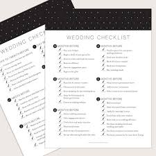 Wedding Checklist Template Interesting Wedding Printables And Free Wedding Templates Basic Invite