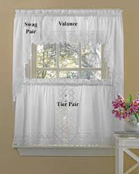Of Kitchen Curtains Nouveau Embroidered Kitchen Curtains