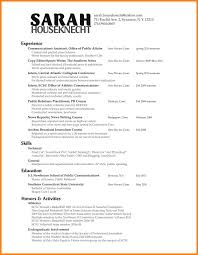 11 Public Relation Resume Examples Letter Of Apeal