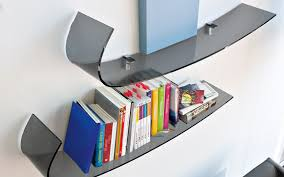 Curved Wall Shelves Curved Wall Shelves Handle Shelf In Curved Glass House Interiors 5747