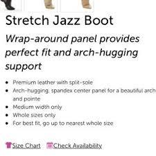 Revolution Dancewear Stretch Jazz Boot 651