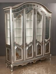 english antique display cabinet. Silver Leaf Dome Top Display Cabinet English Antique