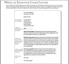 Cover Letter For Chartered Accountant Effective Cover Letter Examples Good Cover Letter Examples For