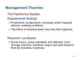 Research Papers  Classical Management Theory      SlideShare
