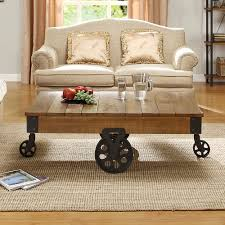 Myra II Vintage Industrial Modern Rustic 47-inch Coffee Table by iNSPIRE Q  Classic by iNSPIRE Q
