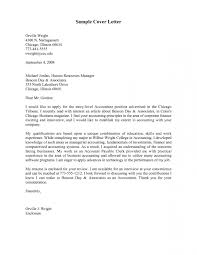 Social Work Cover Letter Entry Level Accounting Examples Well Inside