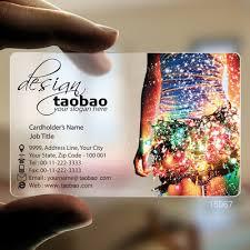 Translucent Plastic Business Cards Us 69 0 15067 Music Translucent Plastic Card Printing Service Business Card In Business Cards From Office School Supplies On Aliexpress Com