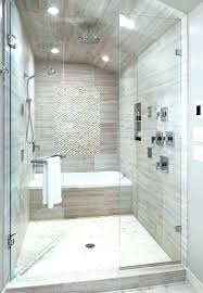 master bath with shower only small
