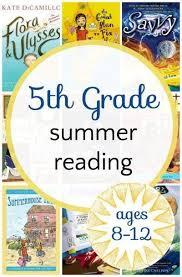 5th grade summer reading list middle grade fiction books