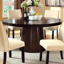 brown round dining table amazing dark brown round pedestal dining table for 6 brown glass dining table chairs