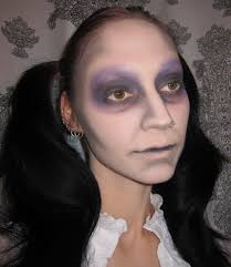 dead doll costume makeup look with sobe botanicals