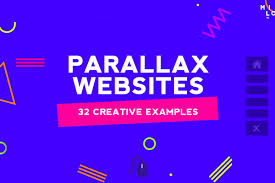 Websites Design With Parallax Effect 32 Creative Examples