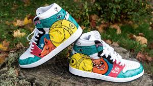 Cool Designs To Paint On Shoes Custom Painted Jordans Using Angelus Leather Paint On Shoes