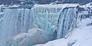 look niagara falls is a frozen winter wonderland right now 107 5 kool fm