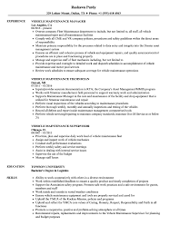 maintenance resume samples vehicle maintenance resume samples velvet jobs
