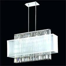 rectangular chandelier with linen shade rectangular rectangular chandelier with linen shade