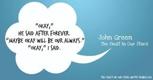 fault in your stars be okay