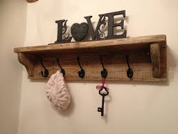 Rustic Coat Rack With Shelf Coat Hook Rack Best Hooks Wall Mounted Ideas On Pinterest Golfocd 50
