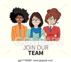 Team Get Together Invitation Vector Stock Join Our Team United People As A Business Or