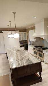 after a completed marble countertops project in the saint louis