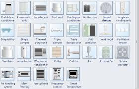 air conditioning damper. more pid hvac symbols air conditioning damper