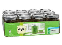 ball 16 oz mason jars. ball, pint (16 oz), wide mouth, mason canning jars, 12 ball 16 oz jars