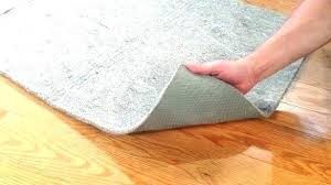 felt rug pads natural rubber and pad fortune for hardwood floors canada