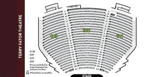 Terry Fator Seating Chart Conclusive Seating Chart For Terry Fator Theater Terry Fator