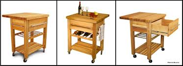 Space Saving Kitchen Space Saving With Clever Kitchen Carts