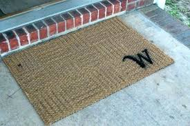 customized rugs personalized outside door mats customized front mat initial doormat monogrammed rugs large size m