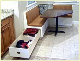 booth table corner booth kitchen table with storage
