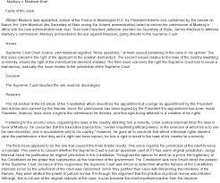 marbury v madison essay marbury vs madison thematic essay