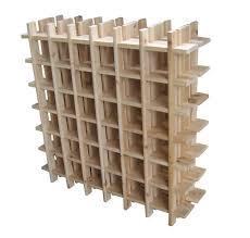 decorative wood target wine rack for wine organizer idea