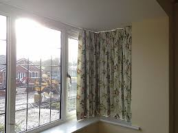window curtain curtain rail for bay windows b q inspirational decoration interior fine looking yellow fl