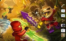 LEGO® Ninjago Tournament Theme für Android - APK herunterladen