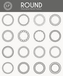 Decorative Round Frames Free Vector template hosting worpres,hosting free download card designs on free responsive church website templates