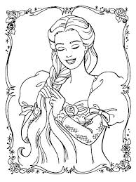 Small Picture Barbie Coloring Pages With Her Dog Coloringstar Coloring
