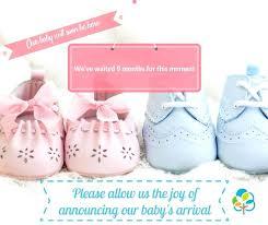 Birth Announcement Photo Card Template Newborn Templates Definition