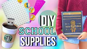 diy back to school supplies and organization jenerationdiy