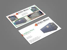 Citi Design Build Pte Ltd Elegant Playful Business Card Design For Citi Box