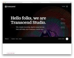 Free Menu Design Website Transcend Free Design Studio Website Template Colorlib