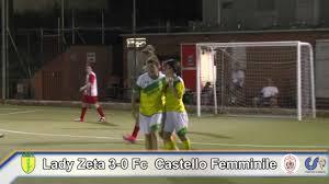 Csi Perugia Lady Zeta 3 0 Fc Castello Calcio femminile Highlights Finale  Eccellenza Calcio a 5 Fem