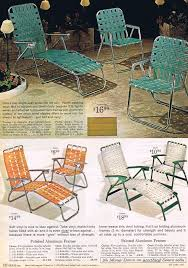 old school lawn furniture