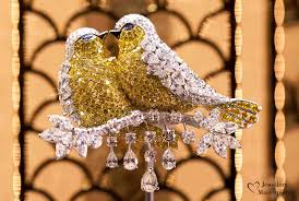 peacock brooch by graff diamonds
