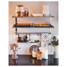 awesome ikea kitchen shelving shelf com unit idea stainless steel canada rack system open
