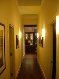 image of hallway indoor wall mounted lights